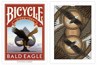 Bald Eagle Bicycle Playing Cards by Collectable Playing Cards (Limited To 1100)