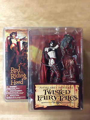Mcfarlane RED RIDING HOOD * MONSTERS TWISTED FAIRY TALES * OVP