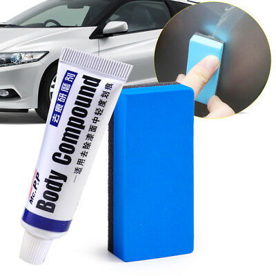 Useful Car Scratching Remover Vehicle Auto Body Compound Paste Repair Kit Sponge