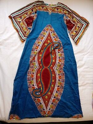 African Printed Dress 100% cotton size 10-12