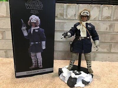 Sideshow 1/6 Scale Han Solo Hoth Star Wars Empire Strikes Back Blue NO 2nd Head