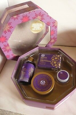 Coffret The Body Shop Prune Gourmande (Neuf)