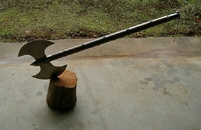 "3 Large  30"" Medieval Double Edge Battle Axes , Executioner Axes, Free Shipping"