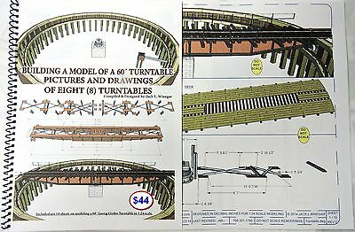 """BUILDING A MODEL OF A 30"""" RAILROAD TURNTABLE - Booklet for large-scale modelers"""