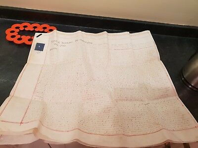 Manor Of Accrington New Hold.Halmot Court.1838 3 page vellum surrender document