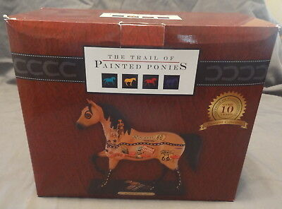 Enesco The Trail of The Painted Ponies Rockin' Route 66! Figurine New in Box