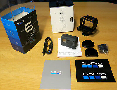 GoPro Hero 6 Black 4K – Action Camera Neu - Schwarz – GPS WLAN Bluetooth