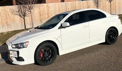 2010 Mitsubishi Evolution MR touring Mitsubishi Lancer Evolution MR touring