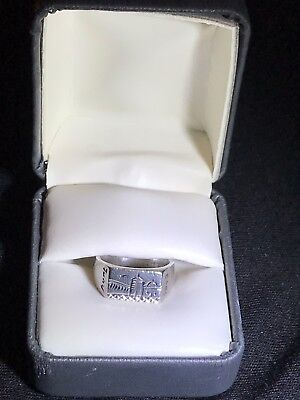 Authentic 1943 Tunisia WW2 Ring With Hallmark Stamp North African