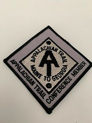 Rare Appalachian Trail Conference Member Hipster Jacket Travel Patch 037