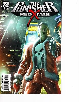 The Punisher: Red X-Mas #1 Palmiotti, Texeira FREE SHIPPING AVAILABLE!