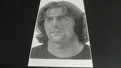 The Eagles Glenn Frey poster print sketch  private collection Limited edition