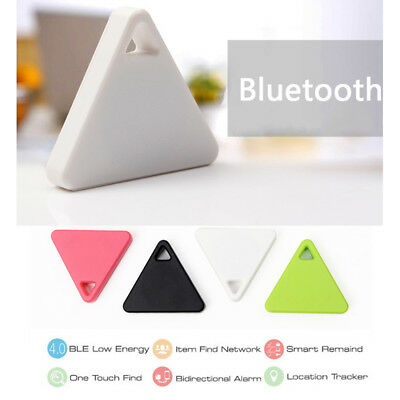 GPS Mini Tag Smart Tracker Bluetooth Wallet Key Finder Locator Alarm Pet Child T