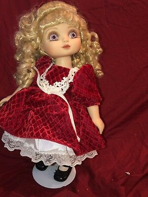 "15"" Adora Belle Holiday Cheer Marie Osmond Christmas Doll TARGET"