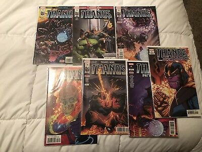 Thanos #14-18. 1st Prints! Cosmic Ghost Rider. Donny Cates! + Legacy & Annual!!!