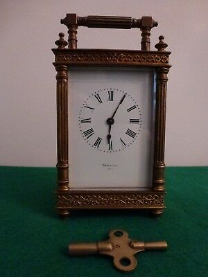 Antique Ward and Son  French Carriage Clock for Spares