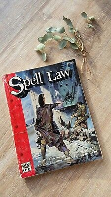 Rolemaster - Spell Law # 1200 1989
