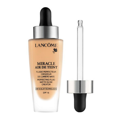 Lancome Miracle Air De Teint Perfecting Fluid Foundation 30ml - Choose Shade