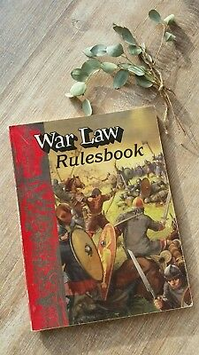 Rolemaster War Law Rulesbook Ironcrown Entertainment ICE