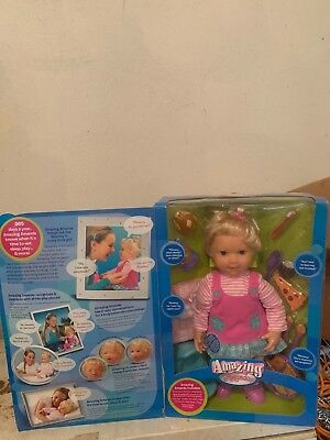 Playmates Amazing Amanda Interactive Doll Brand New In Box! Unreal Find Vintage