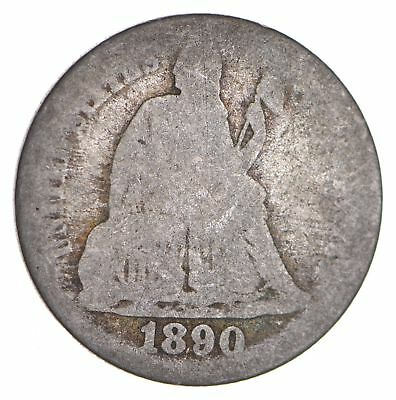 Historic 1890 Seated Liberty Dime *910