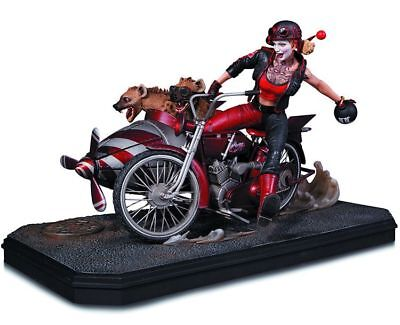 DC Collectibles Gotham City Garage: Harley Quinn Deluxe Statue NIB SEALED
