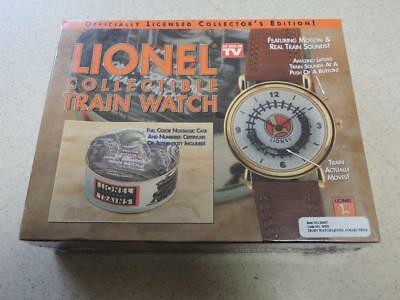 Lionel Train Watch Officially Licensed Motion Train Sounds New In Box