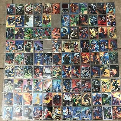 1995-94 FLEER ULTRA MARVEL CARDS Lot Of 347 All In Picture