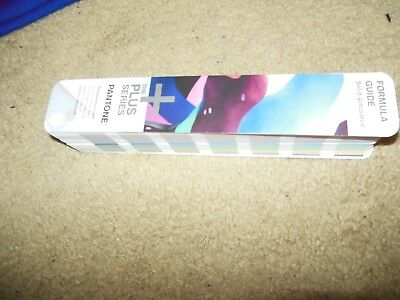 PANTONE FORMULA GUIDE THE PLUS SERIES, USED, SOLID UNCOATED, VG condition