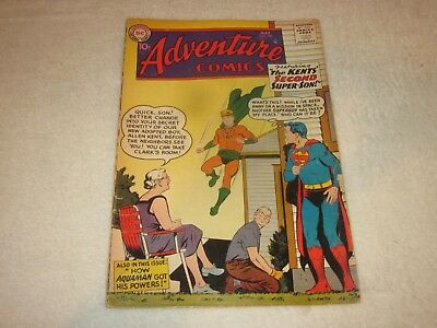 Adventure Comics 260 Vg Origin Aquaman 1959