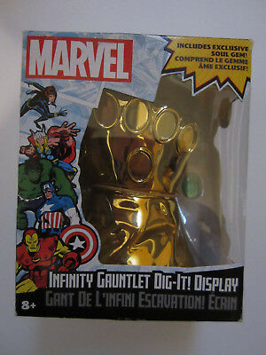 Infinity Gauntlet Dig-It Display Marvel Soul Gem Thanos (Marvel Collectible)