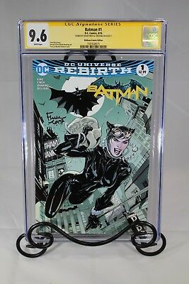 Batman #1 Cgc 9.6 - Signed By David Finch & Tom King (Midtown Comics Exclusives)