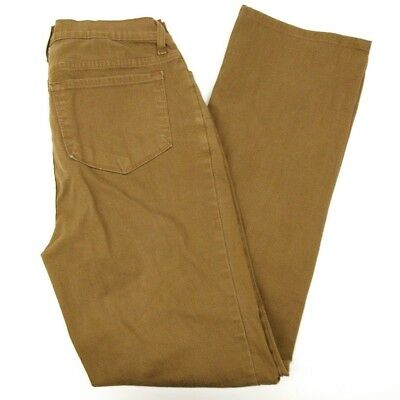 NYDJ Not Your Daughters Jeans Womens Size 10 Brown Jeans Lift Tuck Tech 32 x 32