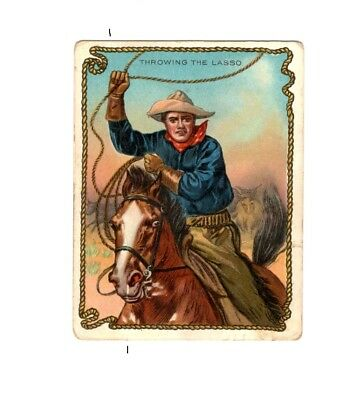 1910 T53 Hassan ~ Cowboy Series ~ Throwing the Lasso