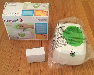 Munchkin Warm Glow Wipe Warmer - Used, Tested and Glows