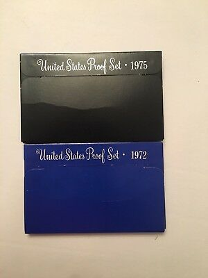 1971 & 1975 - US Mint Proof Sets - Both in Original boxes.