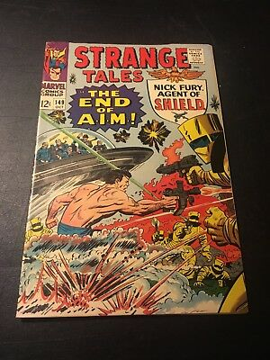 Strange Tales #149 (Oct 1966 Marvel) Jack Kirby Cover & Story Fn-!