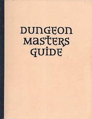 WOTC D&D 3rd Ed Dungeon Master's Guide 3.0 (Pre-Publication Edition, Perf SC EX