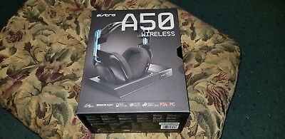 NEW Astro Gaming A50 Wireless Headset and Base for PS4/PC