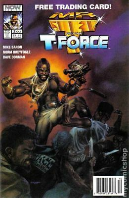 Mr. T and the T-Force #3 1993 VF Stock Image