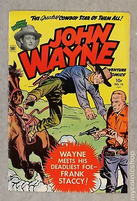 John Wayne Adventure Comics #13 1952 FN- 5.5