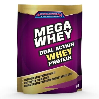 3Kg Whey Protein Isolate / Concentrate - Strawberry - Wpi Wpc Protein Powder