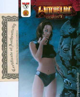 Witchblade Demon DF Exclusive 1C 2003 VF Stock Image