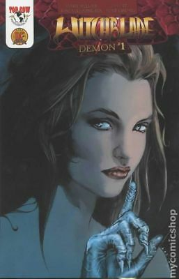 Witchblade Demon DF Exclusive 1E 2003 NM Stock Image