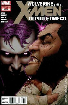 Wolverine and the X-Men Alpha and Omega #4 2012 FN Stock Image