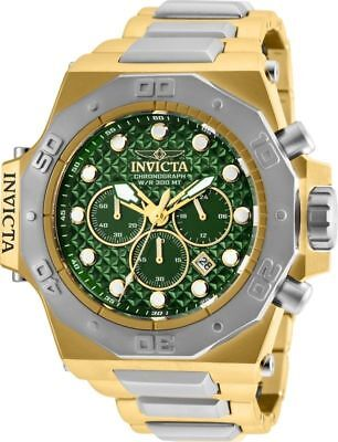 26044 Invicta  Men's 'Akula' Reserve Gold-Tone and Silver Stainless Steel Watch