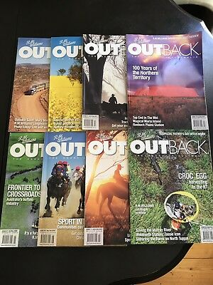RM Williams Outback Magazines X 8 2009 2010 & 2011 issues
