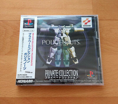 Juego Playstation Policenauts Private Collection Konami Japan Ntsc-J Psx