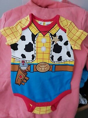Boys new TOY STORY WOODY romper size 0