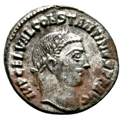 CONSTANTINE THE GREAT (316 AD) Rare Follis, Alexandria #IU 1106